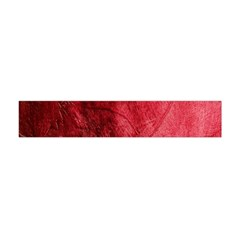 Red Background Texture Flano Scarf (mini) by Simbadda