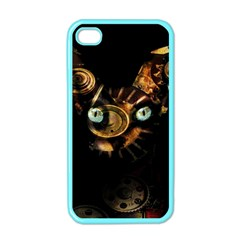 Sphynx Cat Apple Iphone 4 Case (color) by Valentinaart