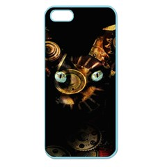 Sphynx Cat Apple Seamless Iphone 5 Case (color) by Valentinaart