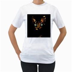 Sphynx Cat Women s T Shirt (white)  by Valentinaart