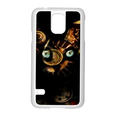 Sphynx Cat Samsung Galaxy S5 Case (white) by Valentinaart