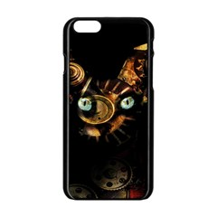 Sphynx Cat Apple Iphone 6/6s Black Enamel Case by Valentinaart