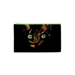 Sphynx Cat Cosmetic Bag (xs) by Valentinaart