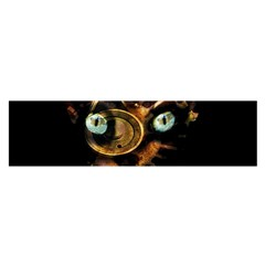 Sphynx Cat Satin Scarf (oblong) by Valentinaart
