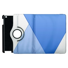 Stripes Lines Texture Apple Ipad 2 Flip 360 Case by Simbadda