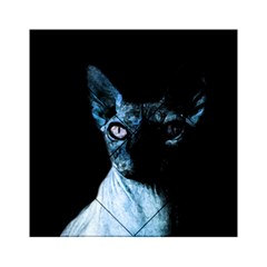 Blue Sphynx Cat Acrylic Tangram Puzzle (6  X 6 ) by Valentinaart