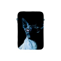 Blue Sphynx Cat Apple Ipad Mini Protective Soft Cases by Valentinaart