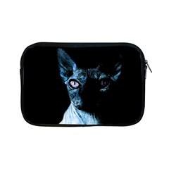 Blue Sphynx Cat Apple Ipad Mini Zipper Cases by Valentinaart
