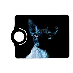 Blue Sphynx Cat Kindle Fire Hd (2013) Flip 360 Case by Valentinaart