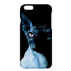 Blue Sphynx Cat Apple Iphone 6 Plus/6s Plus Hardshell Case by Valentinaart