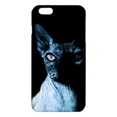 Blue Sphynx Cat Iphone 6 Plus/6s Plus Tpu Case by Valentinaart