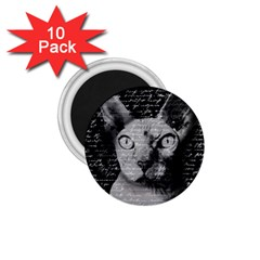 Sphynx Cat 1 75  Magnets (10 Pack)  by Valentinaart