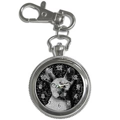 Sphynx Cat Key Chain Watches by Valentinaart