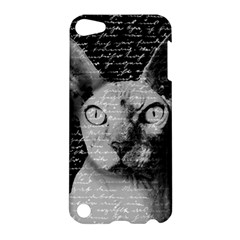 Sphynx Cat Apple Ipod Touch 5 Hardshell Case by Valentinaart