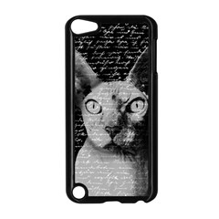 Sphynx Cat Apple Ipod Touch 5 Case (black) by Valentinaart