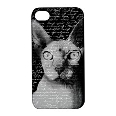 Sphynx Cat Apple Iphone 4/4s Hardshell Case With Stand by Valentinaart