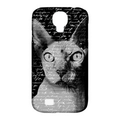 Sphynx Cat Samsung Galaxy S4 Classic Hardshell Case (pc+silicone) by Valentinaart