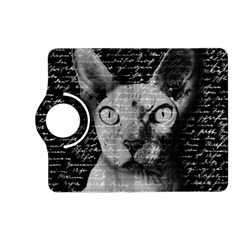 Sphynx Cat Kindle Fire Hd (2013) Flip 360 Case by Valentinaart
