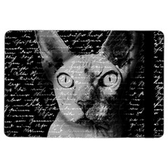 Sphynx Cat Ipad Air 2 Flip by Valentinaart