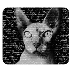 Sphynx Cat Double Sided Flano Blanket (small)  by Valentinaart