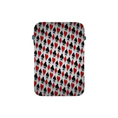 Suit Spades Hearts Clubs Diamonds Background Texture Apple Ipad Mini Protective Soft Cases by Simbadda