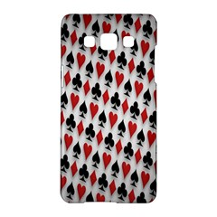 Suit Spades Hearts Clubs Diamonds Background Texture Samsung Galaxy A5 Hardshell Case