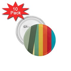 Texture Stripes Lines Color Bright 1 75  Buttons (10 Pack) by Simbadda