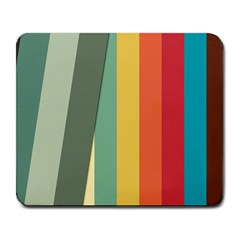 Texture Stripes Lines Color Bright Large Mousepads by Simbadda