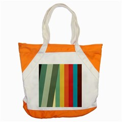 Texture Stripes Lines Color Bright Accent Tote Bag by Simbadda