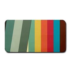 Texture Stripes Lines Color Bright Medium Bar Mats by Simbadda