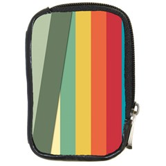 Texture Stripes Lines Color Bright Compact Camera Cases by Simbadda
