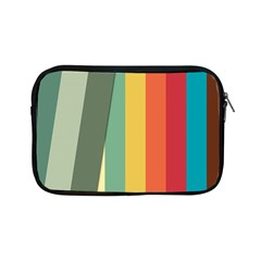 Texture Stripes Lines Color Bright Apple Ipad Mini Zipper Cases by Simbadda