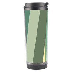 Texture Stripes Lines Color Bright Travel Tumbler by Simbadda