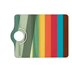 Texture Stripes Lines Color Bright Kindle Fire Hd (2013) Flip 360 Case by Simbadda