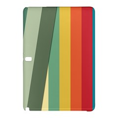 Texture Stripes Lines Color Bright Samsung Galaxy Tab Pro 12 2 Hardshell Case by Simbadda
