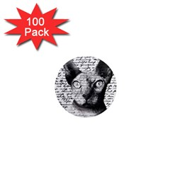Sphynx Cat 1  Mini Magnets (100 Pack)  by Valentinaart