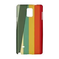 Texture Stripes Lines Color Bright Samsung Galaxy Note 4 Hardshell Case by Simbadda