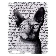 Sphynx Cat Apple Ipad 3/4 Hardshell Case by Valentinaart