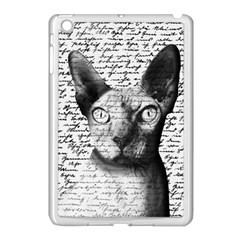 Sphynx Cat Apple Ipad Mini Case (white) by Valentinaart