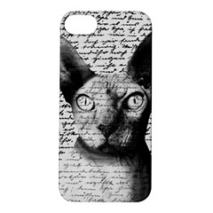 Sphynx Cat Apple Iphone 5s/ Se Hardshell Case by Valentinaart