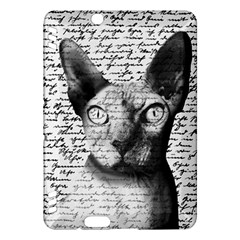 Sphynx Cat Kindle Fire Hdx Hardshell Case by Valentinaart