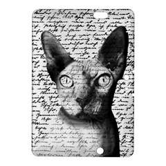 Sphynx Cat Kindle Fire Hdx 8 9  Hardshell Case by Valentinaart
