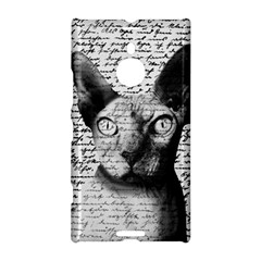 Sphynx Cat Nokia Lumia 1520 by Valentinaart