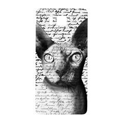 Sphynx Cat Samsung Galaxy Alpha Hardshell Back Case by Valentinaart
