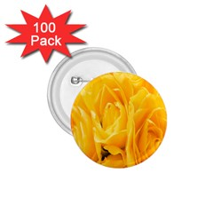 Yellow Neon Flowers 1 75  Buttons (100 Pack)  by Simbadda