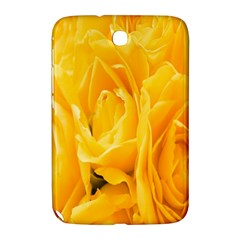 Yellow Neon Flowers Samsung Galaxy Note 8 0 N5100 Hardshell Case  by Simbadda