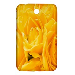 Yellow Neon Flowers Samsung Galaxy Tab 3 (7 ) P3200 Hardshell Case  by Simbadda