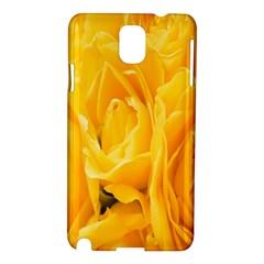 Yellow Neon Flowers Samsung Galaxy Note 3 N9005 Hardshell Case by Simbadda