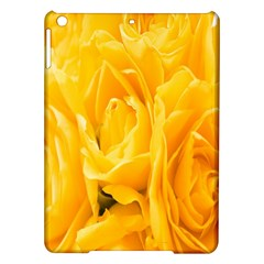 Yellow Neon Flowers Ipad Air Hardshell Cases by Simbadda