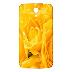 Yellow Neon Flowers Samsung Galaxy Mega I9200 Hardshell Back Case by Simbadda